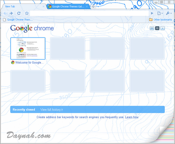 chrome-bluetheme