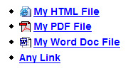 CSS 3 Links
