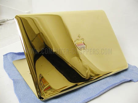 Gold Macbook Air