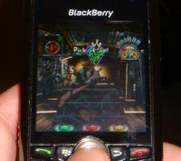 Guitar Hero on Blackberry