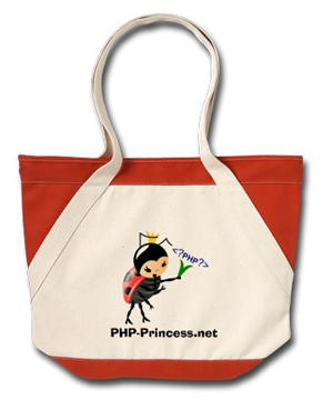PHP-Princessnet Beach Bag