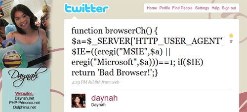 tweet-browsercheck